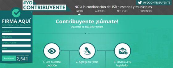Revuelta en México contra el perdón de la deuda fiscal a Estados y municipios