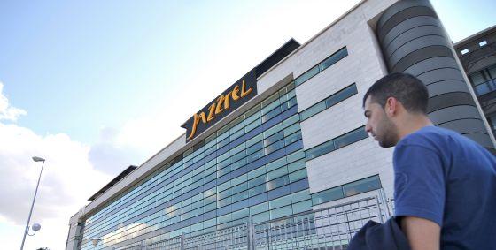 Sede de la empresa Jazztel, en Madrid.