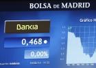 Bankia cae un 41% en Bolsa ante el recorte de sus acciones a 0,01 euros
