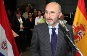 En la imagen, el representante de la UE en Uruguay, Juan Fernández Trigo. EFEArchivo
