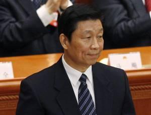 Fotografía tomada el pasado 14 de marzo en la que se registró al vicepresidente chino, Li Yuanchao, quien realiza el primer viaje oficial de un alto cargo del Gobierno chino a Latinoamérica desde el relevo del régimen comunista asiático hace dos meses. EFEArchivo