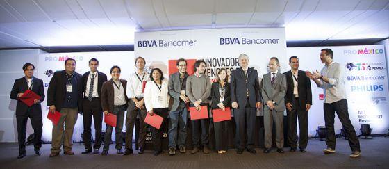 Los 10 premiados, este miércoles en la Ciudad de México