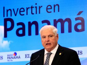 Ricardo Martinelli, presidente de Panamá