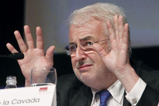 El director de Relaciones Laborales de CEOE, José de la Cavada.