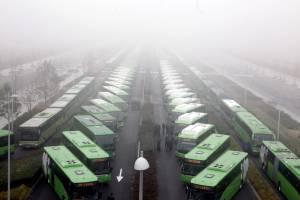 El sector del transporte de viajeros ha perdido 370 empresas de autobuses desde que comenzó la crisis económica, en el verano de 2007, según Asintra, la Federación Española Empresarial de Transportes de Viajeros. EFEArchivo