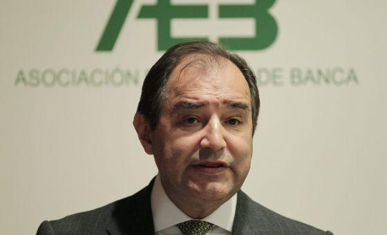 El secretario general de la Asociación Española de Banca, Pedro Villasante