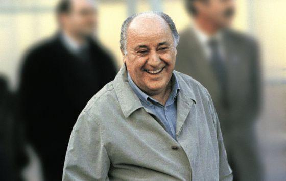 El dueño de Inditex, Amancio Ortega.
