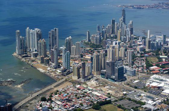 La ciudad de Panamá está en plena transformación  RUSSEL KORD (AFP)