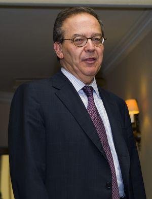 El director general del Fondo de Reestructuración Ordenada Bancaria, Antonio Carrascosa, en el Círculo Ecuestre de Barcelona.