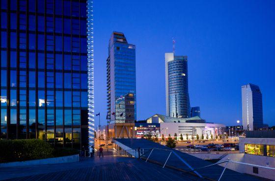 El centro financiero de Vilna oculta la realidad de sus habitantes.
