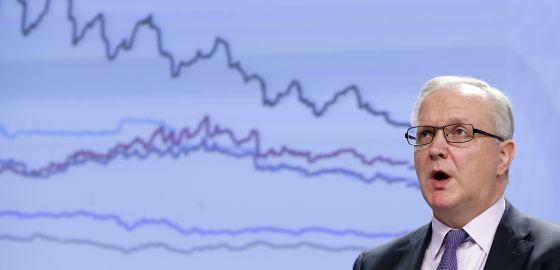 Olli Rehn, comisario de Asuntos Económicos y Monetarios de la UE