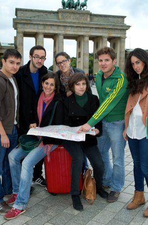 Los españoles en Alemania.