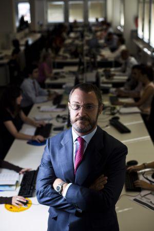 Juan Vizcaíno, fundador de la gestora de activos tóxicos Hipoges.