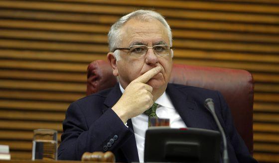 El expresidente del Parlamento valenciano, Juan Cotino.