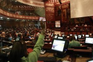 Imagen de la Asamblea Nacional de Ecuador. EFEArchivo