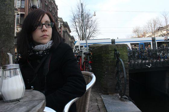 Sonia Chávez en Holanda.