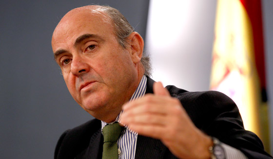 El ministro Economía y Competitividad, Luis de Guindos