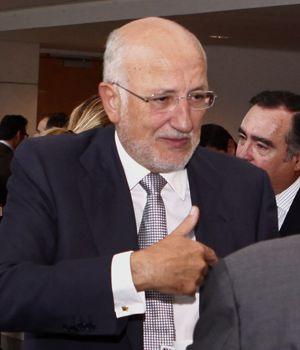 Juan Roig, en un congreso la semana pasada celebrado en Valencia