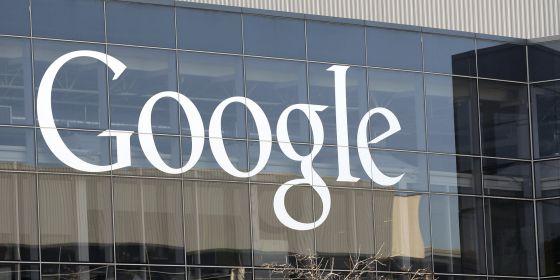 Imagen de la sede de Google en California.
