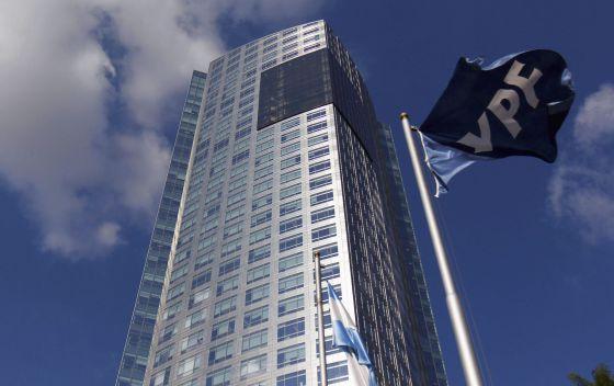 Sede de YPF en Buenos Aires.