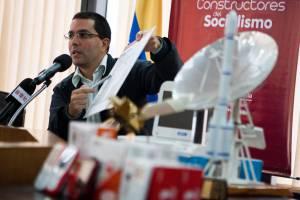 En la imagen, el el vicepresidente venezolano, Jorge Arreaza. EFEArchivo