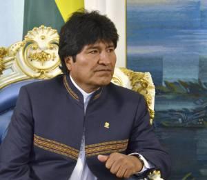 El presidente boliviano, Evo Morales. EFEArchivo