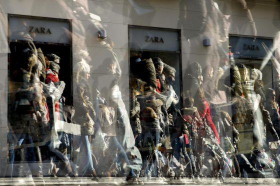 Una de las tiendas de Zara en el centro de Madrid.