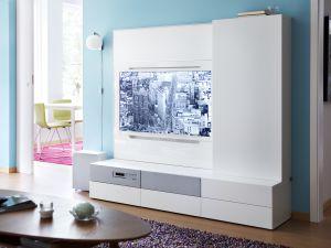 El arte de disimular los elementos del hogar vivienda el pa s - Muebles para equipos de musica ikea ...