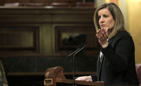 La ministra de Empleo y Seguridad Social, Fátima Báñez