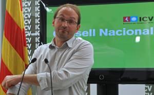 El líder de Iniciativa por Cataluña los Verdes (ICV), Joan Herrera. EFEArchivo