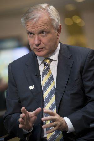 El comisario de Asuntos Económicos de la Unión Europea, Olli Rehn