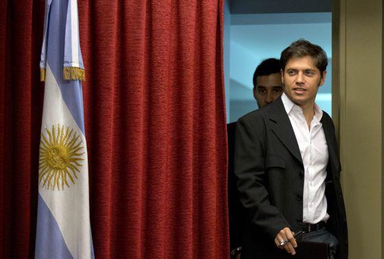 El ministro de Economía de Argentina, Axel Kicillof