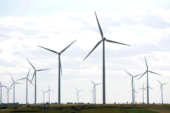 Imagen de archivo de un parque eólico. EFEArchivo