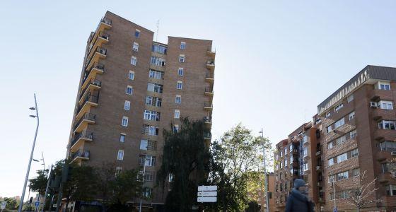 Edificio ubicado en la avenida de Manzanares, 2 de Madrid.