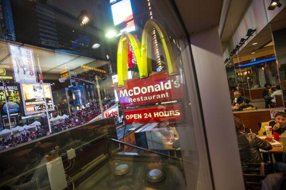 Restaurante de McDonald's en Times Square (Nueva York).
