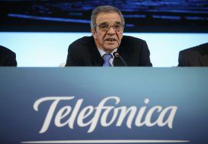 El presidente de Telefónica, Cesar Alierta