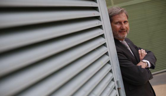 Johannes Hahn, el comisario europeo de Política Regional