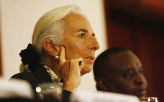 La directora gerente del Fondo Monetario Internacional, Christine Lagarde