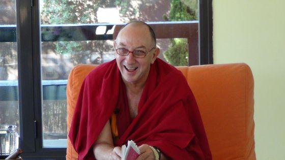 Lobsang Namgyel, antiguo hombre de negocios australiano, es hoy monje.