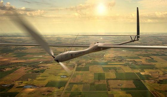 Imagen promocional de la firma de drones Titan
