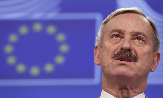 El vicepresidente de la CE y comisario en funciones de Economía, Siim Kallas.