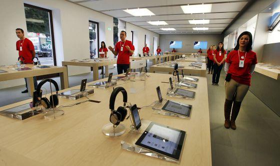 La tienda de Apple en Valencia