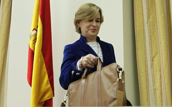 La presidenta de la Sareb, Belén Romana