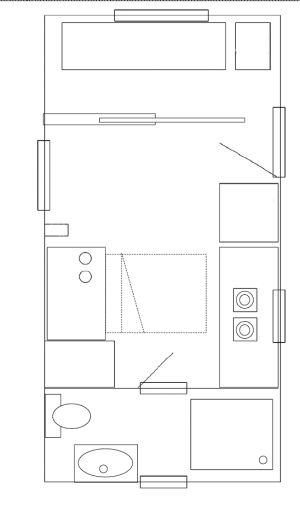 Plano de una tiny house