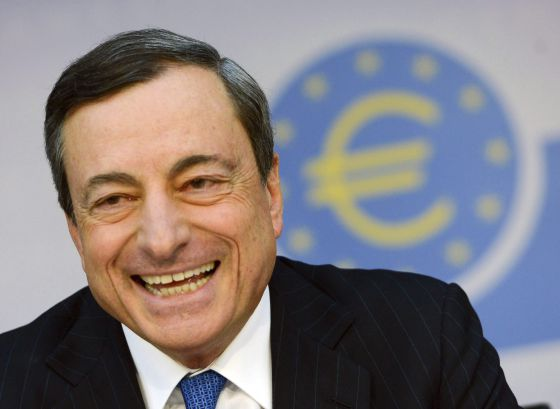 O presidente do Banco Central Europeu (BCE), Mario Draghi.