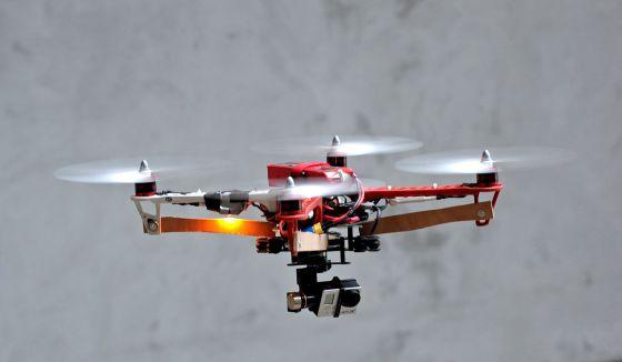 Prototipo de dron realizado en Francia.