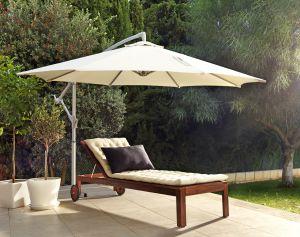 Para reducir el calor el secreto est en la lona for Tipos de toldos para patios
