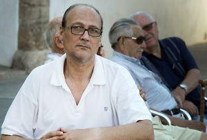 Juan Carlos Mellado, parado desde 2009, en Valencia.