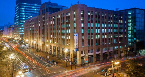 Sede de la red social Twitter en San Francisco.
