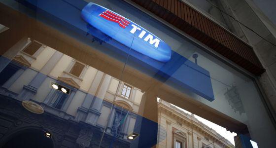 Una tienda de Telecom Italia Mobile (TIM) en Chieti (Italia).